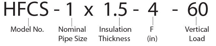 HFCS - 1 x 1.5 - 4 - 60 Calcium Silicate Hot Shoe