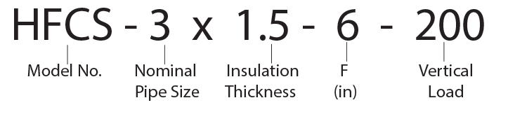 HFCS - 3 x 1.5 - 6 - 200 Calcium Silicate Hot Shoe