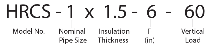 HRCS-1 x 1.5 - 6 - 60 Calcium Silicate Hot Shoe