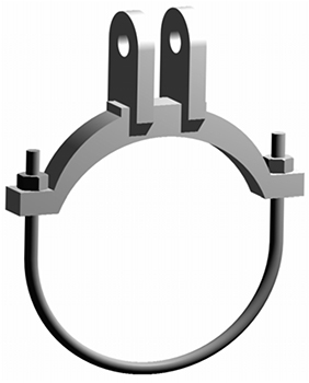 alloy steel pipe clamp