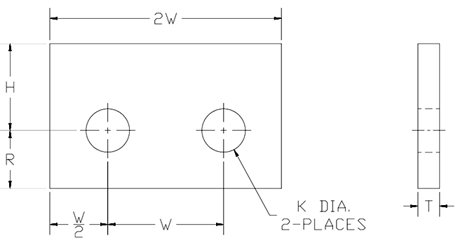 beam lug attachment drawing
