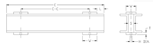 channel assembly drawing