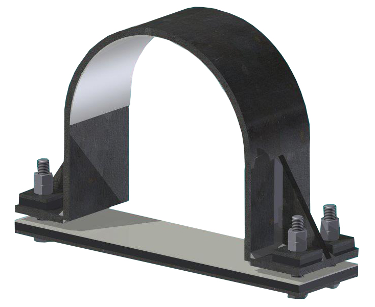 Hold Down Pipe Clamp