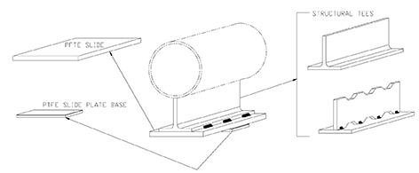 pipe slide assembly drawing