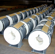 Calcium Silicate Hot Pipe Shoes with Teflon® Slide Plates