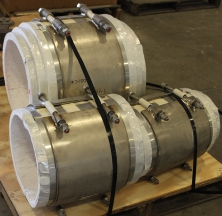 CryoWrap Pipe Supports Ready to be Shipped