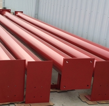 27' Long Carbon Steel Pipe Stands