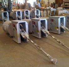 Constant Spring Pipe Support Assemblies
