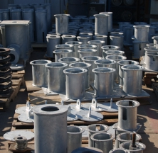 Steel Casings for Variable Spring Pipe Supports