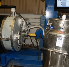 Pre-insulated Pipe Support Undergoing Testing