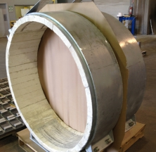 Large Bore Calcium Silicate Hot Pipe Supports