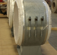 Large Diameter Cryogel Pipe Shoes