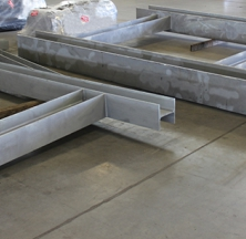 Structural Steel on the Rilco Shipping Floor